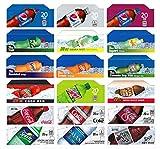 Vending-World - 18x Flavor Strip for 20 oz Bottles Soda Pepsi Coke Vending, fits Dixie Narco, Vendo