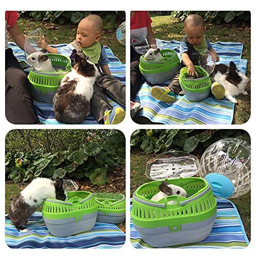 Giftyペットハウス&キャリー大型キャリーケージうさぎモルモットチンチラ子犬子猫快適キャリーでおでかけ通院旅行防災(色指定不可)