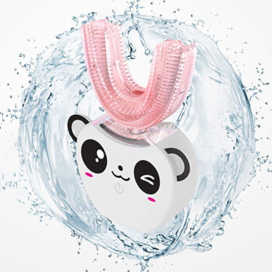ベーコンけん引記念日360度自動インテリジェントパッケージレイジー歯ブラシ電気急速洗浄ソニックホワイトニング充電式歯ブラシ,White,B