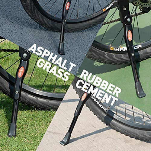 WATSABRO Fahrradständer Einstellbare Universal Fahrradständer Unterstützung für Fahrrad Mountainbike Rennrad mit Raddurchmesser 18 20 22 24 26 27 27,5 Zoll - 5