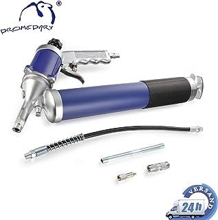 DROS 4500 PSI Pistola de Grasa de Alta Resistencia con Manguera Flexible y Boquilla de Metal