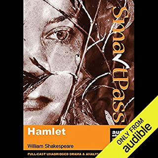 SmartPass Plus Audio Education Study Guide to Hamlet (Dramatised, Commentary Options) audiobook cover art