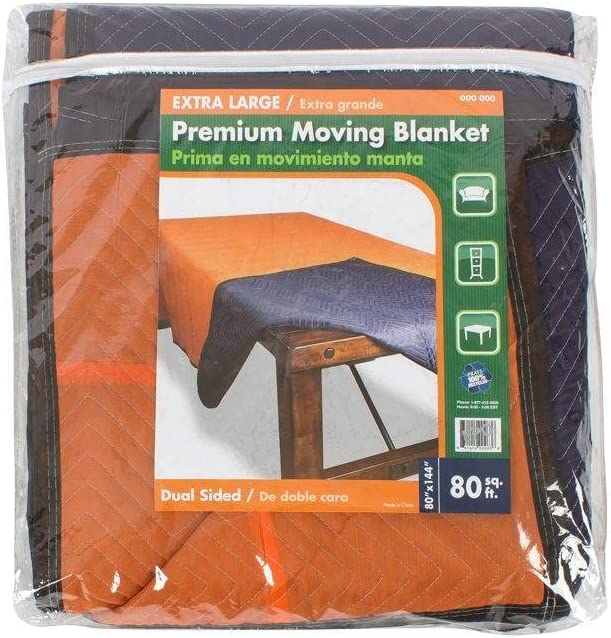 144 in. x 2021 80 Extra Premium Moving Special Campaign Large Blanket-XLMOVBLAN