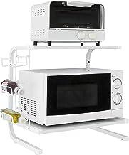 SoBuy regał na mikrofalówkę półka wisząca na mikrofalówkę Biały,FRG092-N