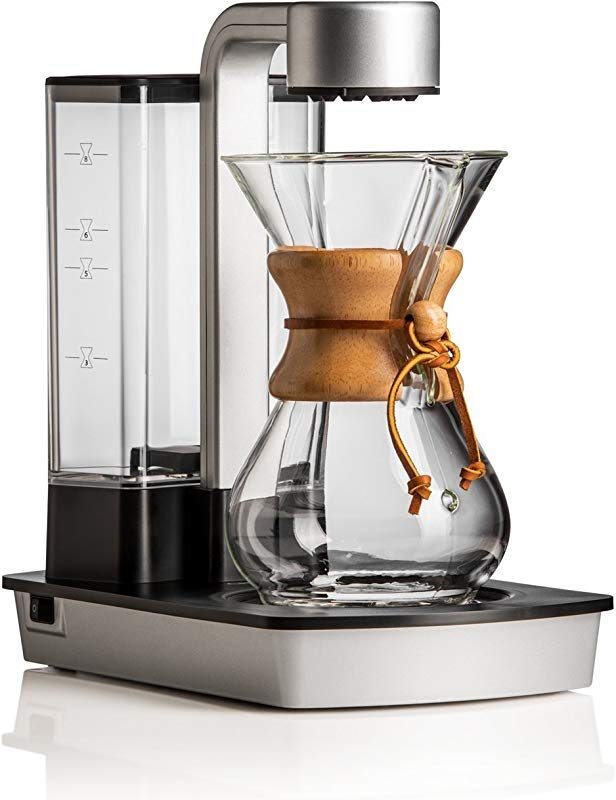 Chemex Ottomatic Coffeemaker Set With 6 Glass Cup Glass Cover And Cleaner
