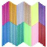 Petift Colored Glitter Hot Glue Sticks (60pcs)