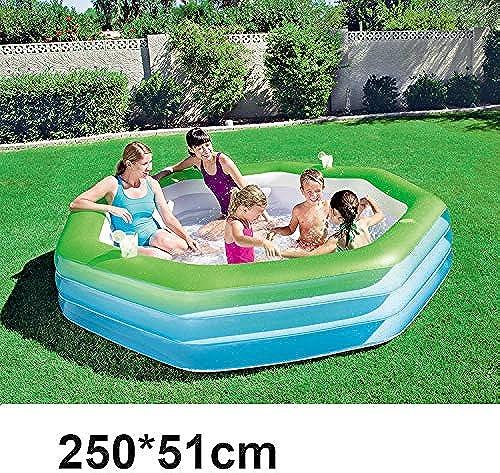 inflatable toys Sommer Neues Baby Aufblasbaren Pool Spielzeuge, Familienspiel Pool Unterhaltung Sand Pool Badewanne, Geeignet Für Drinnen Und Draußen 250  5cm