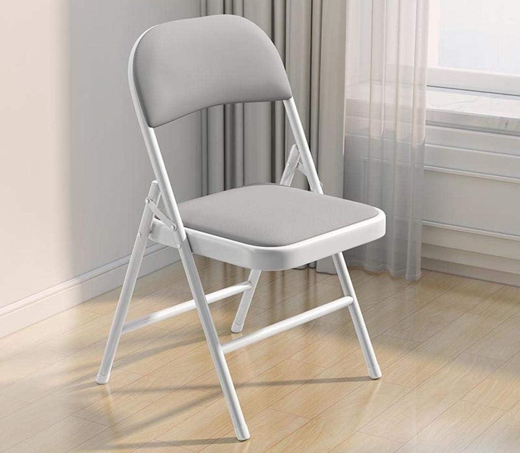 Chaise de bureau Pliable, Salle de réunion Salle de classe Bureau Loisirs Chaise facile à transporter maison Chaise à manger pratique de stockage (Color : D) B