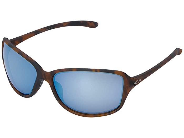 Oakley Cohort (Matte Brown Tortoise w/ Prizm Deep Polarized) Plastic Frame Fashion Sunglasses