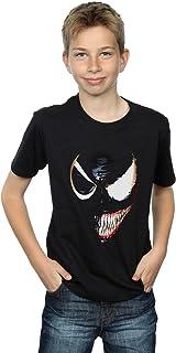 Marvel Universe Niños Venom Split Face Camiseta