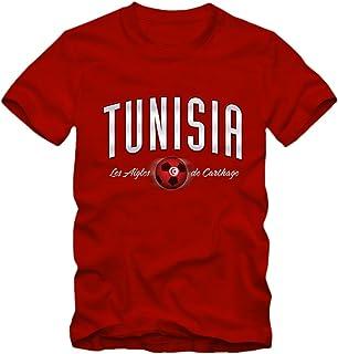Druck NAME NR TUNESIEN TUNESIE S M L XL XXL T-Shirt Trikot inkl -- Gr