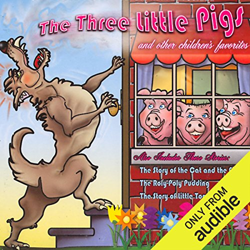 The Three Little Pigs and Other Children's Favorites audiobook cover art