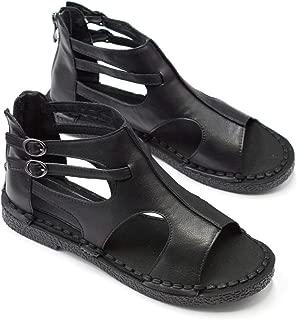 genoa italian leather gladiator sandals