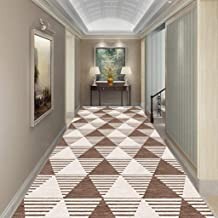 WX&QIANG Long Hallway Rugs Runners, Super Absorbent, Home Area Rug, Neutral Modern, Thick Non Shedding Indoor Creativity...