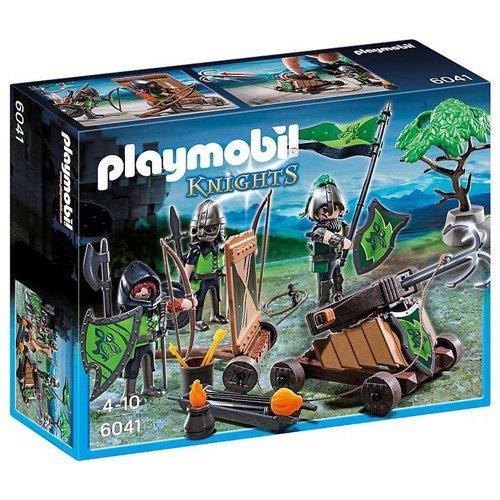Playmobil Loup Chevaliers avec Catapulte