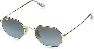 RB3556N Octagonal Sunglasses, Gold/Blue Gradient, 53 mm