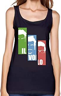 Il Volo Music Band Womans Tank Tops Vest Running Fashion Sleeveless Tshirts Girls Gift