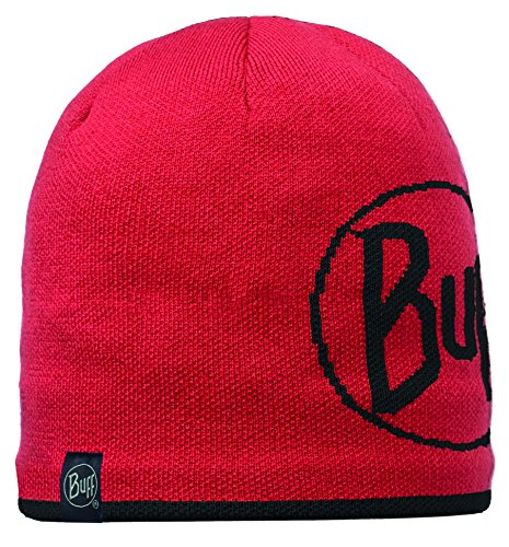 Original Buff - Knitted & Polar Hat Solid Unisex Adulto, talla unica, color Red Logo