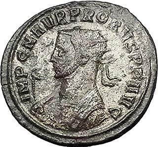 280 IT PROBUS 280AD Ancient Roman Coin SOL SUN God Cult coin Good