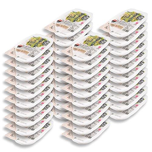 岡山県産木村式自然栽培米朝日「発芽玄米ごはん」40パック