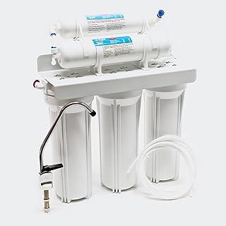 Naturewater NW-PR305 5-traps filter met kraan, 2.5m pijp, korte driewegklep en kogelkraan
