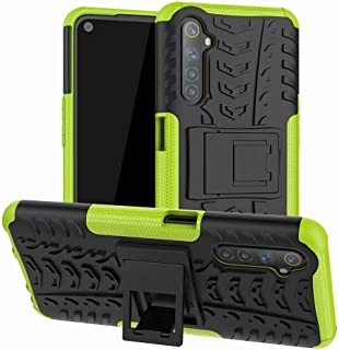 Soosos case for Oppo Realme 6S case With Kickstand hybrid heavy duty 2 in 1 Anti-fall protection Cover Hyun pattern design...