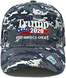 Trump 2020 Keep America Great !! | Rally Campaign Embroidered US Hat | Baseball Bucket Trucker Cap