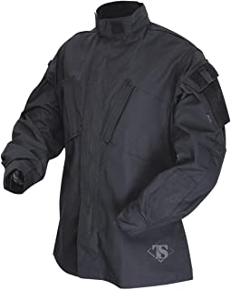TRU-SPEC 1288006 Tactical Response Uniform Shirt, Polyester Cotton Rip-Stop, X-Large Regular, Black