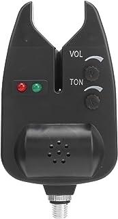 Alarmas de mordida de Pesca Indicador LED de Volumen Ajustable Indicador de Cebo para Alarma de luz de Pesca Nocturna