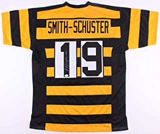 4ec52f80ded Juju Smith-Schuster Autographed Signed Pittsburgh Steelers Throwback Bumble  Bee Jersey - JSA Certified