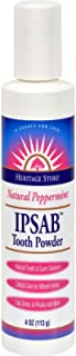 Ipsab Tooth Powder Peppermint 4 Ounce Pwdr