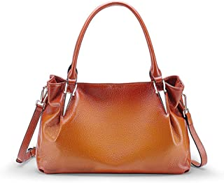 2019 New Women's Leather Shoulder Bag Casual Vintage Handbag Ladies Retro Portable Messenger Bag(FM)