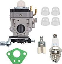 Mannial 300486 Carburetor Carb fit Earthquake E43 E43CE E43WC Auger MC43 MC43E MC43CE MC43ECE MC43RCE Tiller MD43 WE43 WE43E WE43CE Edger 300486 11334 43CC 51.7CC 2 Cycle with Repower Tune-Up Kit