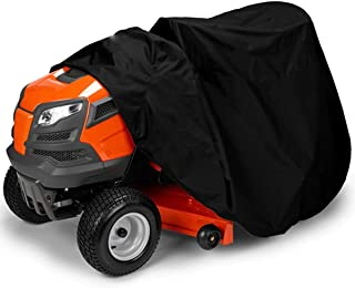 Mtinfly Lawn Mower Cover Waterproof, Premium Lawn Tractor Cover, Heavy Duty, Durable, UV and Water Resistant, Fits Decks up to 54
