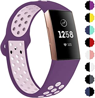 QIBOX Compatible with Charge 3 Bands, Sports Silicone...