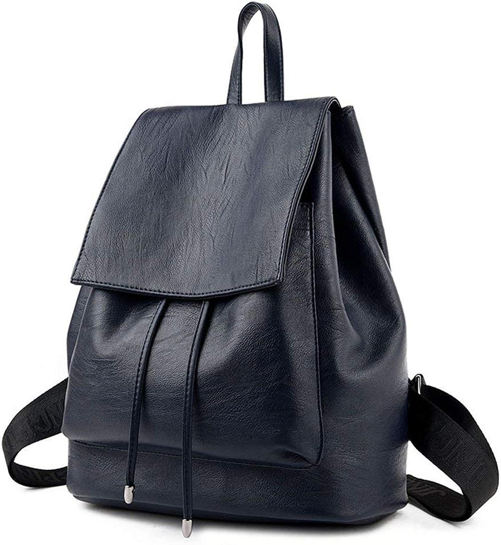 Hulday Rucksack Für Frauen Echtes Leder Einfachen Stil Casual Fashion Gre Einfacher Stil Kapazitt Multifunktionale Schule Shopping Reise Handtasche 31  36  16,