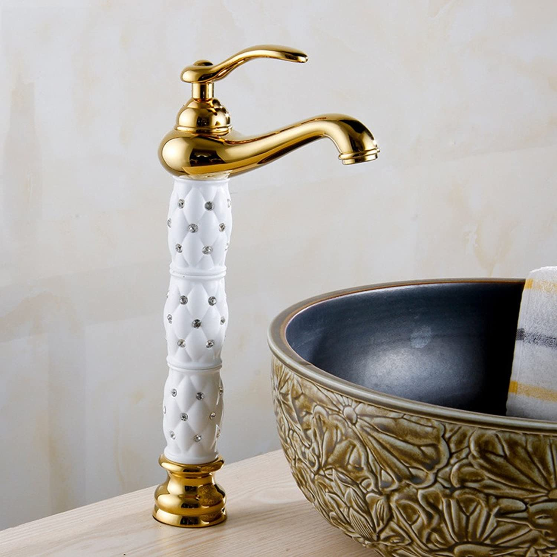 Hlluya Professional Sink Mixer Tap Kitchen Faucet The golden faucet basin mixer console