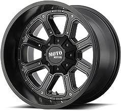 MOTO METAL MO984 BLACK 17x9 8x165.10/8X6.5 -12