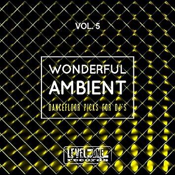 Wonderful Ambient, Vol. 5 (Dancefloor Picks For DJ's)