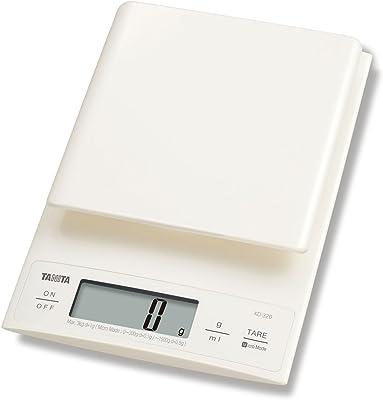 Tanita KD-320 Digital Kitchen Scale 3kg-Cream
