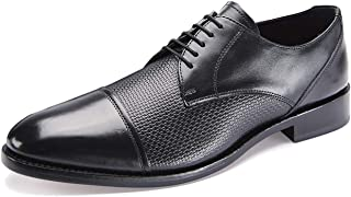 Samuel Windsor Men's Formal Shoe Handmade Leather Soled Oxford Lace-up, Goodyear Welted