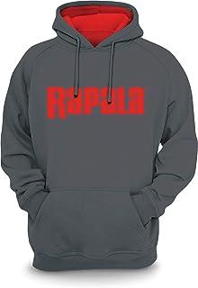 Rapala Sweatshirt Grey Red Hood Medium