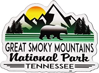 Great Smoky Mountains National Park Vinyl Decal Sticker Tennessee Laptop Bumper Luggage 4