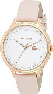 Lacoste Womens analoge klassieke quartz horloge met lederen band 2001087