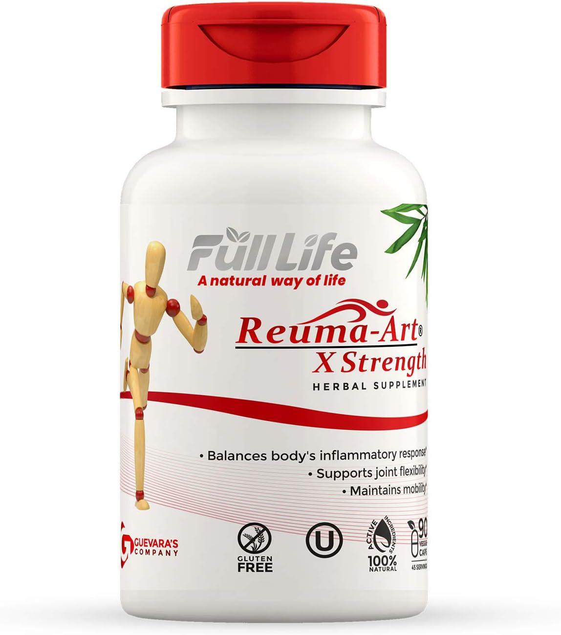 Full Long-awaited Life Credence Reuma Art X Strength 400 Supplements mg – Herbal
