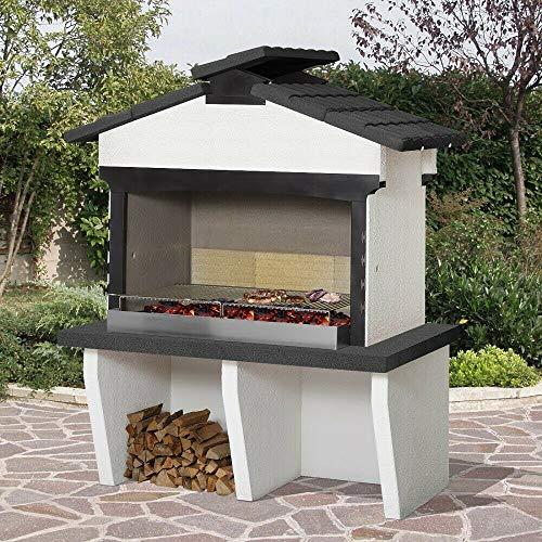 Xodo Store Barbecue in muratura SAROM Modello Minerva, Funziona a Legna e carbonella