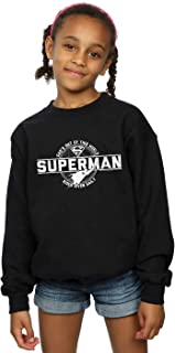 DC Comics Girls Superman Dad Out Of This World Sweatshirt