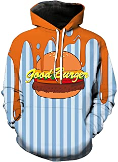 SWAG Hipster Mens 3D Hoodie Burger Hoodies Fashion Funny Jacket Coat Pullover Sweatshirt Casual Streetwear