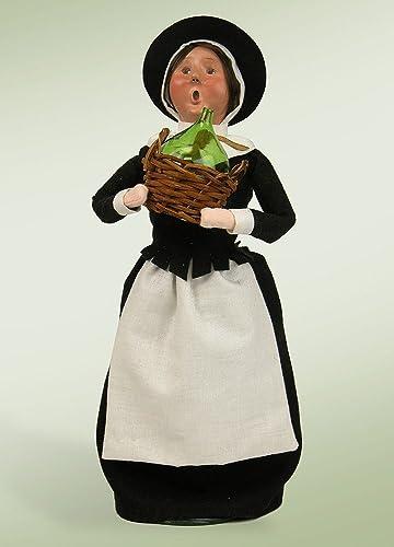 diseñador en linea Byers' Byers' Byers' Choice Ltd. Figura de Agradecimiento con Jarra de Cristal de Madre de Pilgrim de 31,75 cm  calidad oficial