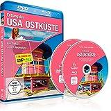 Entlang der USA Ostküste (Reisereportage von Florida nach Neuengland) [DVD] und [Blu-ray] in einem Set
